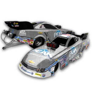 2016 John Force Peak Diecast in RAW finish